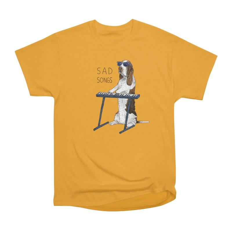 Sad Songs Men's Heavyweight T-Shirt by Martina Scott's Shop
