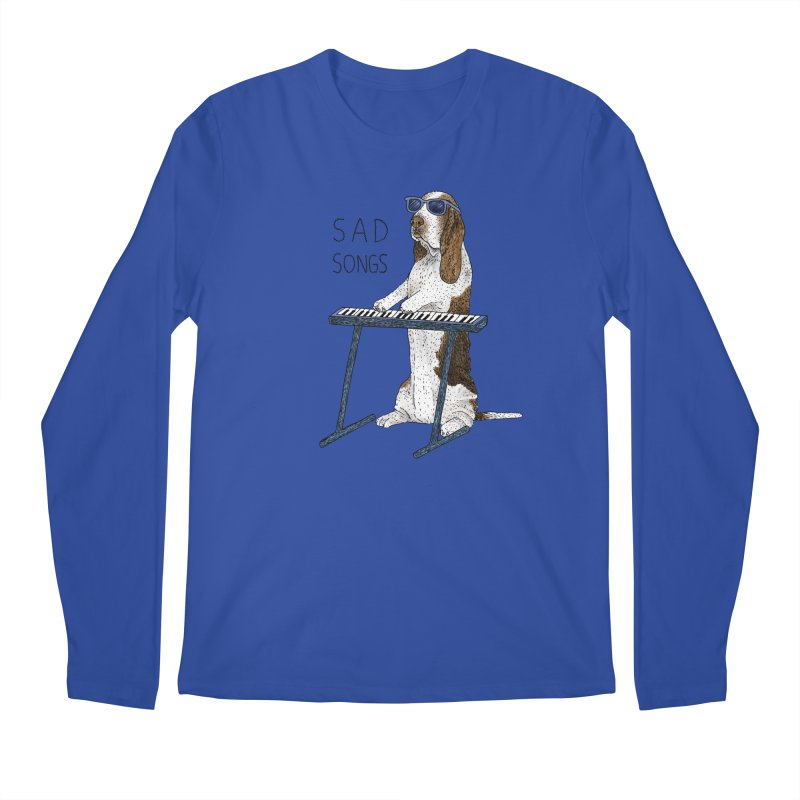 Sad Songs Men's Regular Longsleeve T-Shirt by Martina Scott's Shop