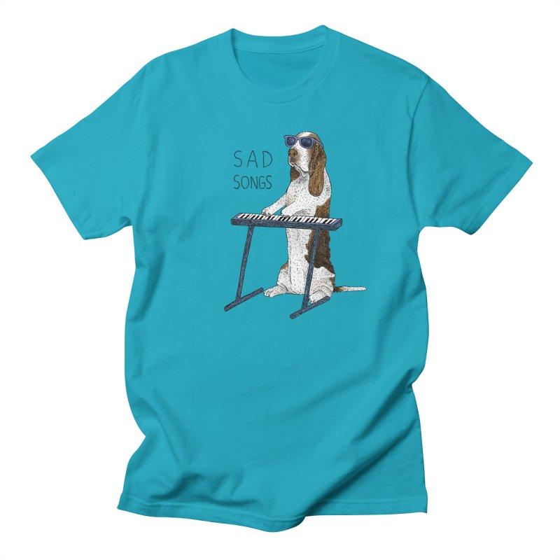 Sad Songs Men's Regular T-Shirt by Martina Scott's Shop