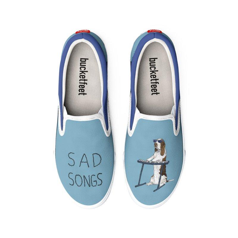 Sad Songs Women's Shoes by Martina Scott's Shop