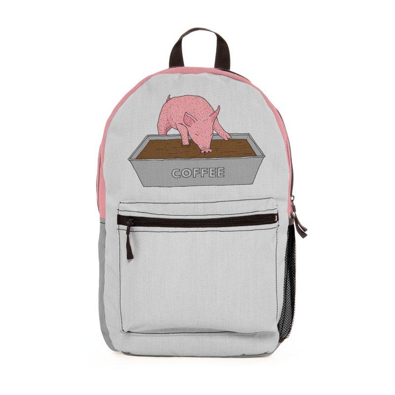 Coffee Pig Accessories Bag by Martina Scott's Shop