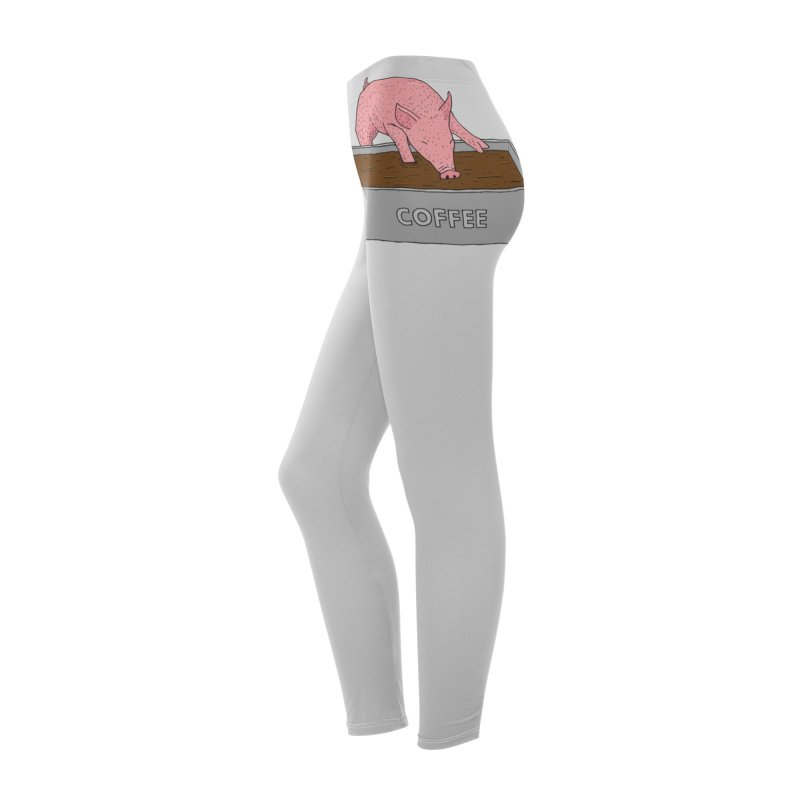 Coffee Pig Women's Bottoms by Martina Scott's Shop