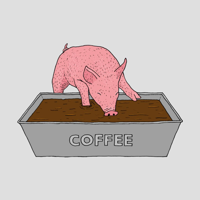 Coffee Pig Accessories Mug by Martina Scott's Shop