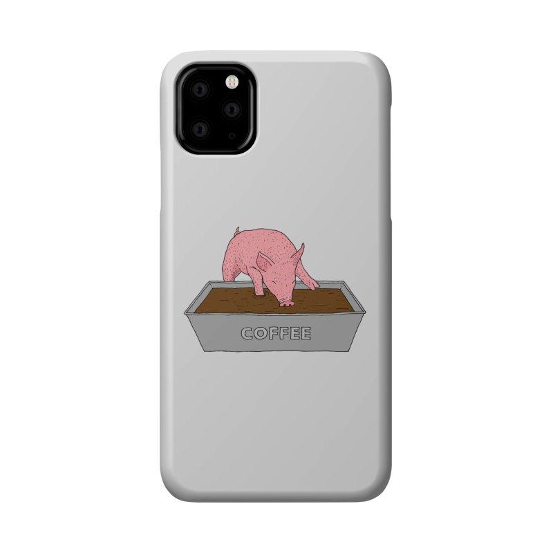 Coffee Pig Accessories Phone Case by Martina Scott's Shop