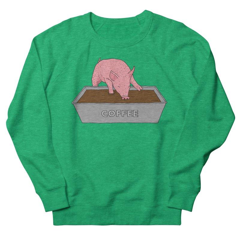 Coffee Pig Women's Sweatshirt by Martina Scott's Shop
