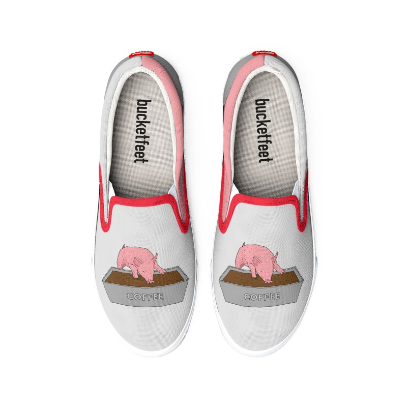 Coffee Pig Women's Shoes by Martina Scott's Shop