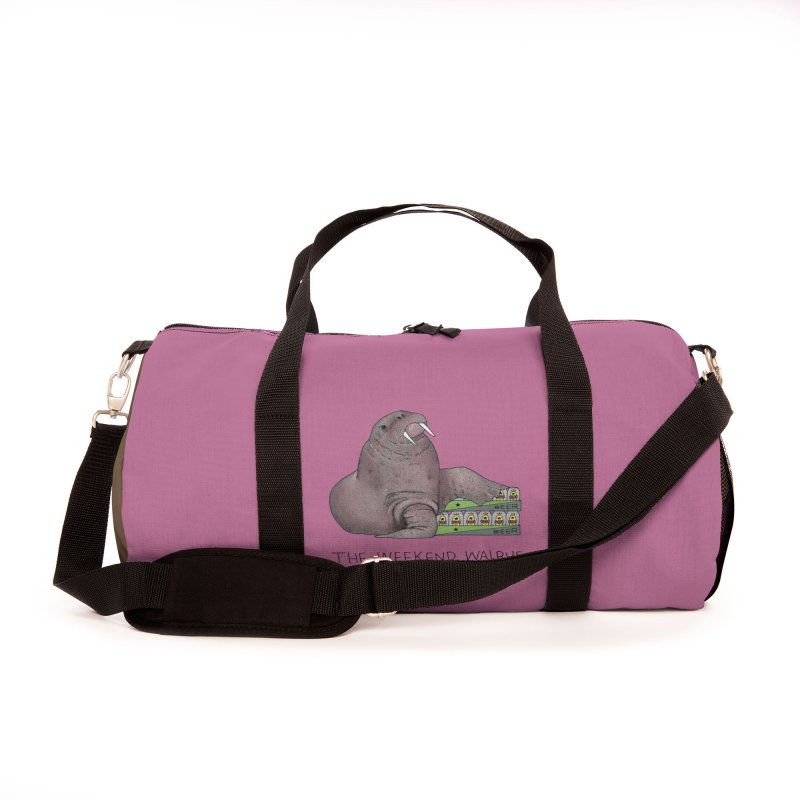 Weekend Walrus Accessories Bag by Martina Scott's Shop