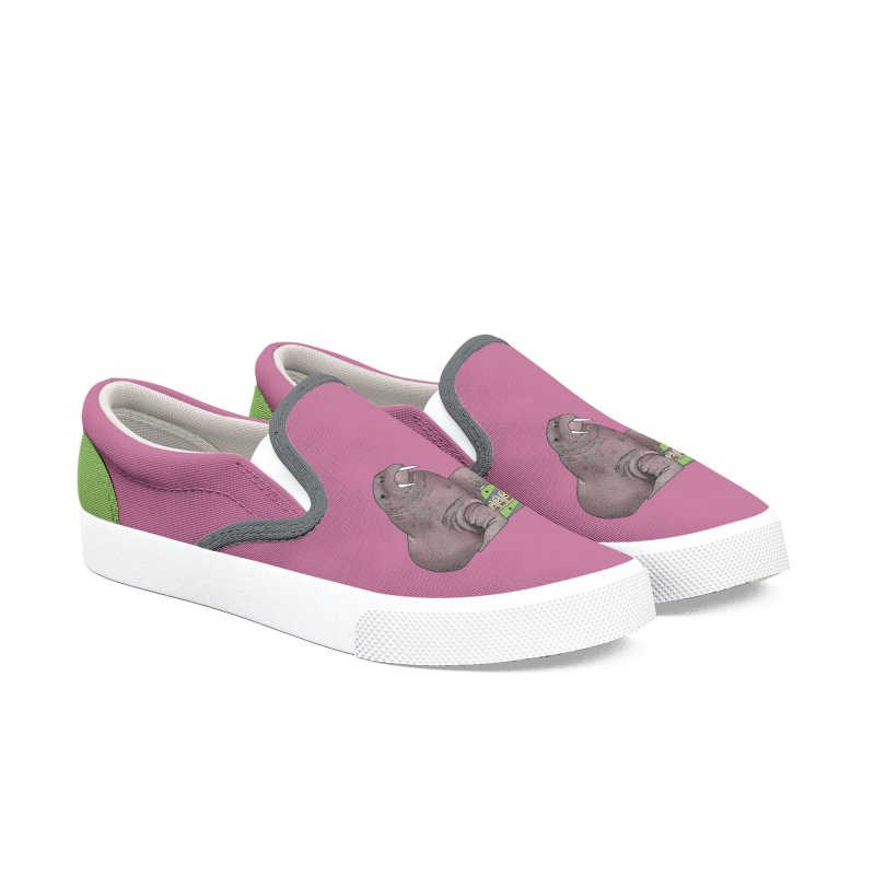 Weekend Walrus Women's Slip-On Shoes by Martina Scott's Shop