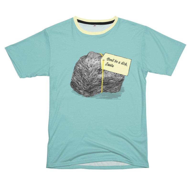 Don't Be A Dick Men's T-Shirt Cut & Sew by Martina Scott's Shop