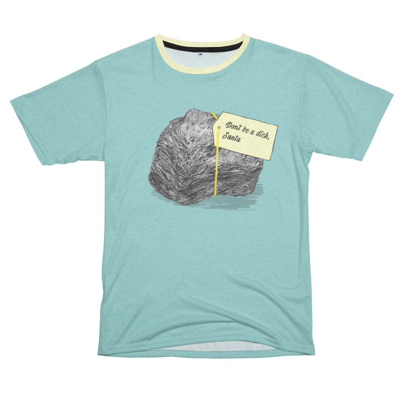 Don't Be A Dick Women's Unisex French Terry T-Shirt Cut & Sew by Martina Scott's Shop