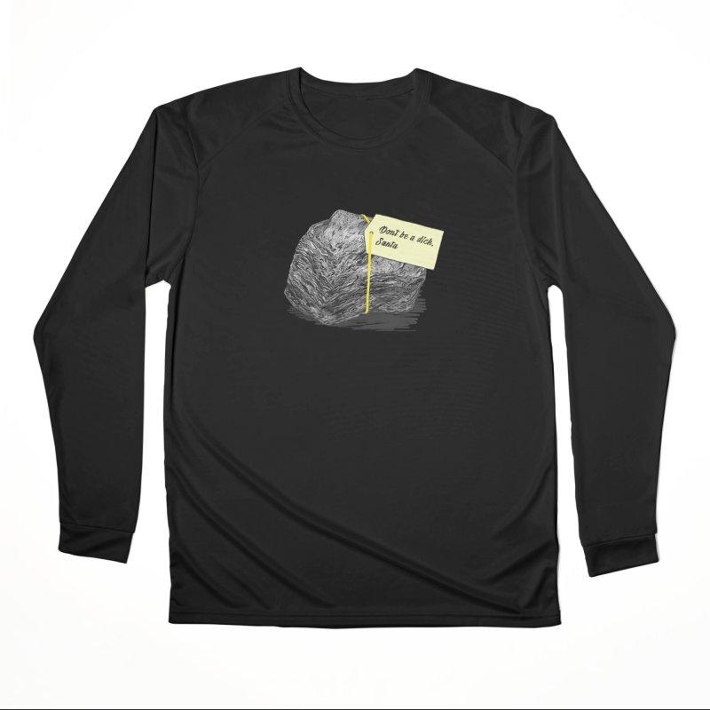 Don't Be A Dick Men's Performance Longsleeve T-Shirt by Martina Scott's Shop