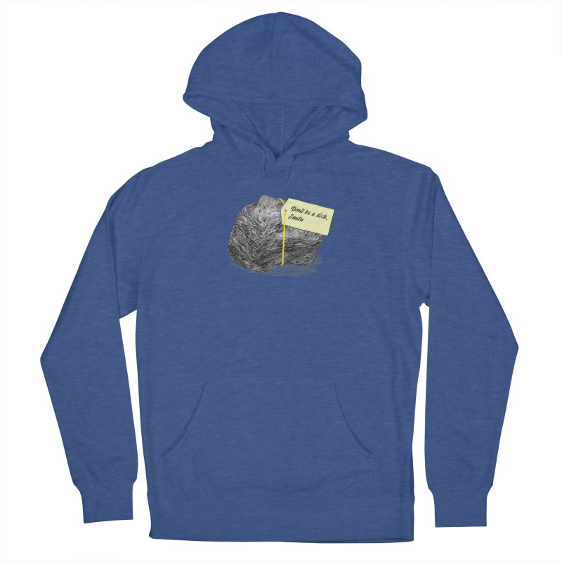 Don't Be A Dick Men's French Terry Pullover Hoody by Martina Scott's Shop
