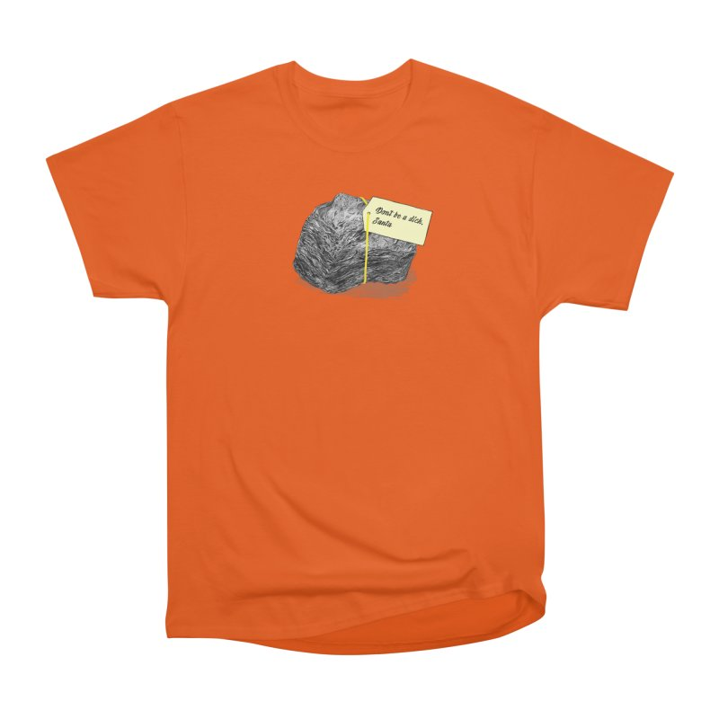 Don't Be A Dick Men's T-Shirt by Martina Scott's Shop