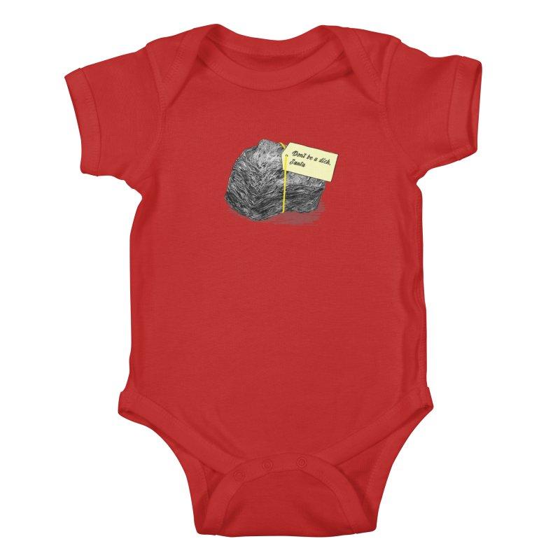 Don't Be A Dick Kids Baby Bodysuit by Martina Scott's Shop