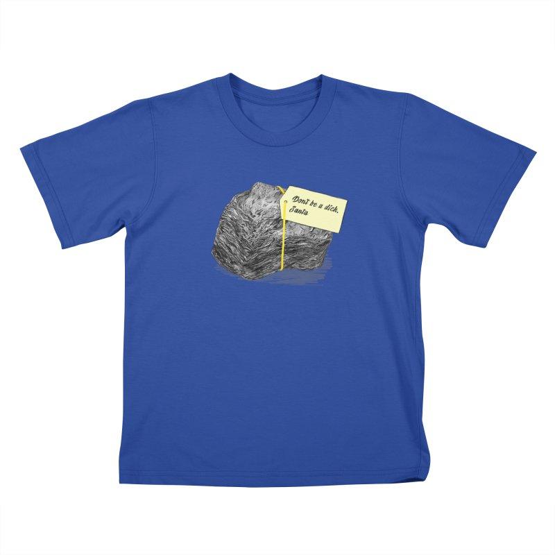 Don't Be A Dick Kids T-Shirt by Martina Scott's Shop