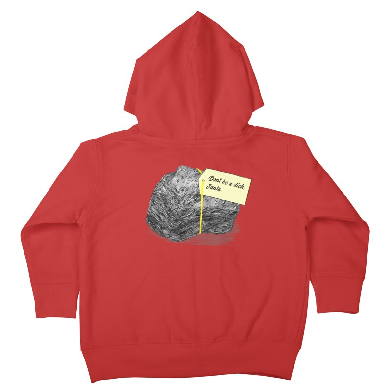 Don't Be A Dick Kids Toddler Zip-Up Hoody by Martina Scott's Shop