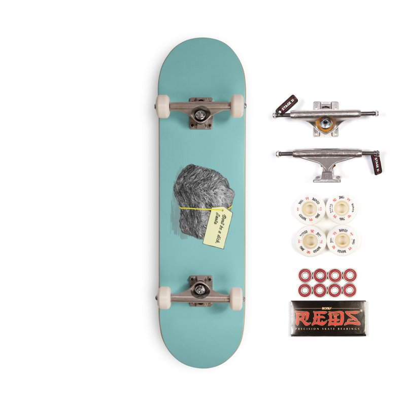 Don't Be A Dick Accessories Complete - Pro Skateboard by Martina Scott's Shop