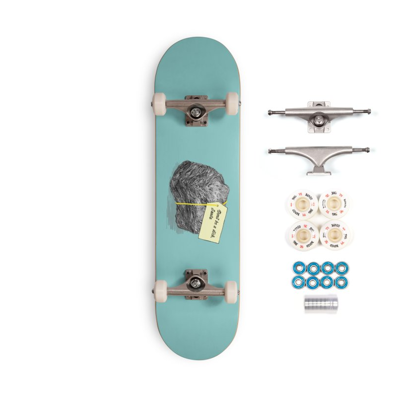 Don't Be A Dick Accessories Complete - Premium Skateboard by Martina Scott's Shop