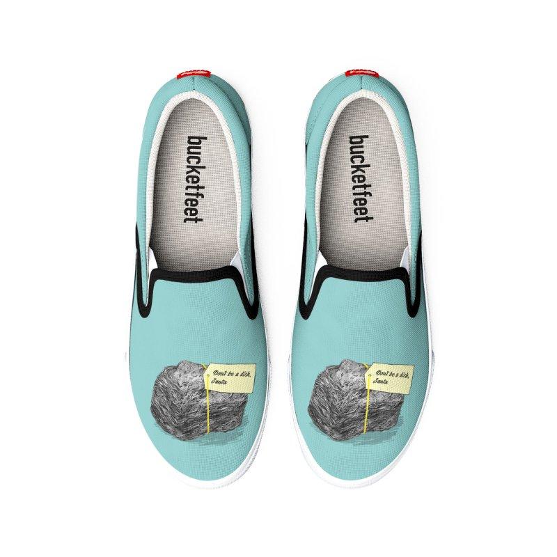 Don't Be A Dick Men's Shoes by Martina Scott's Shop
