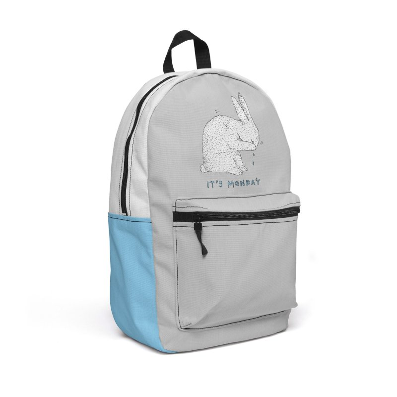 Monday Tears Accessories Backpack Bag by Martina Scott's Shop