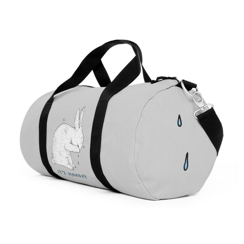 Monday Tears Accessories Duffel Bag Bag by Martina Scott's Shop