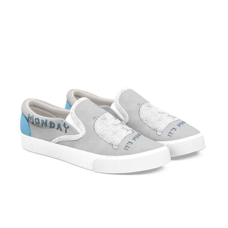 Monday Tears Men's Slip-On Shoes by Martina Scott's Shop