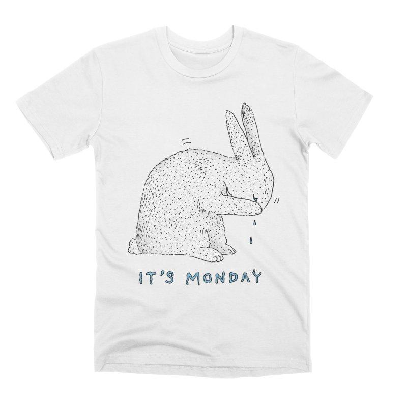 Monday Tears Men's Premium T-Shirt by Martina Scott's Shop