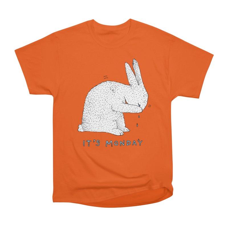 Monday Tears Men's T-Shirt by Martina Scott's Shop