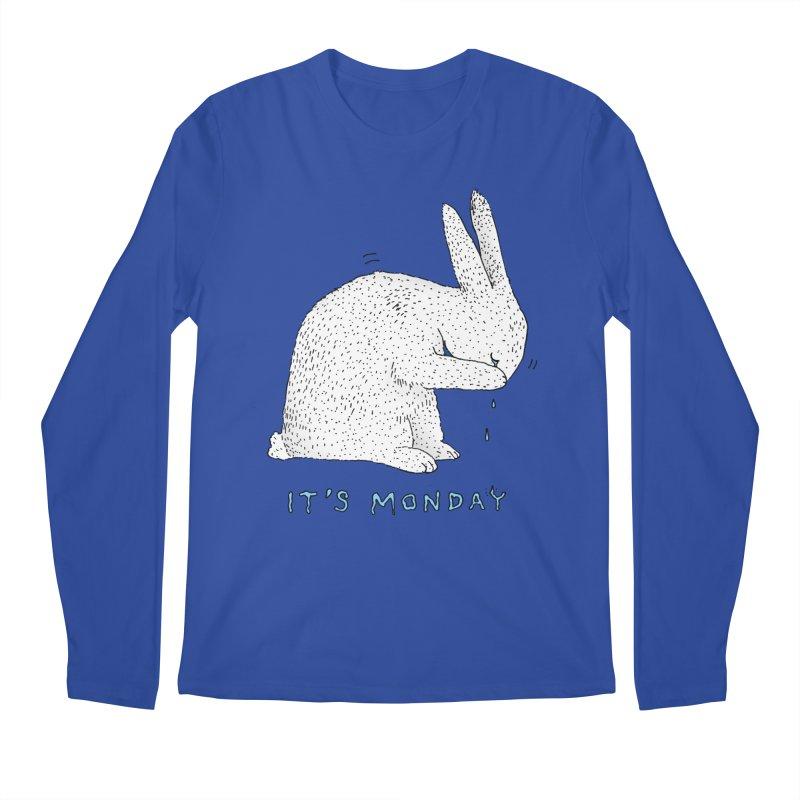 Monday Tears Men's Regular Longsleeve T-Shirt by Martina Scott's Shop