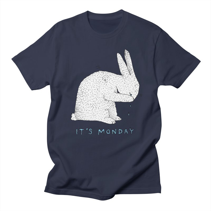 Monday Tears Men's Regular T-Shirt by Martina Scott's Shop