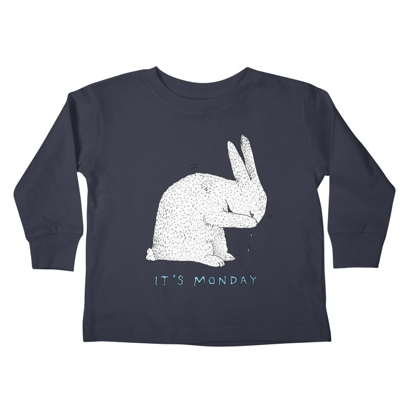 Monday Tears Kids Toddler Longsleeve T-Shirt by Martina Scott's Shop