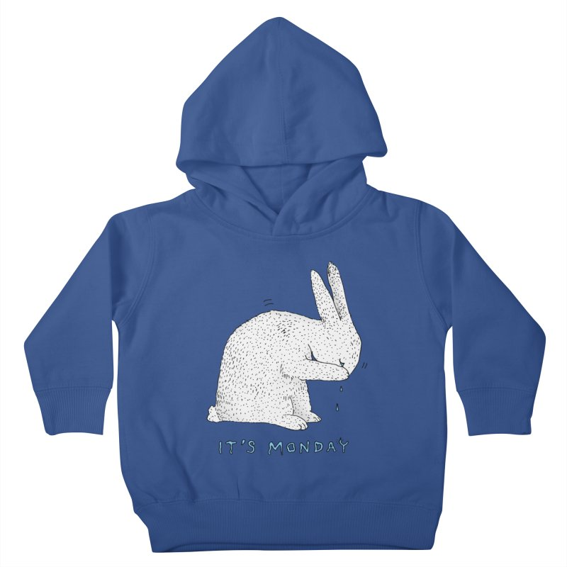 Monday Tears Kids Toddler Pullover Hoody by Martina Scott's Shop
