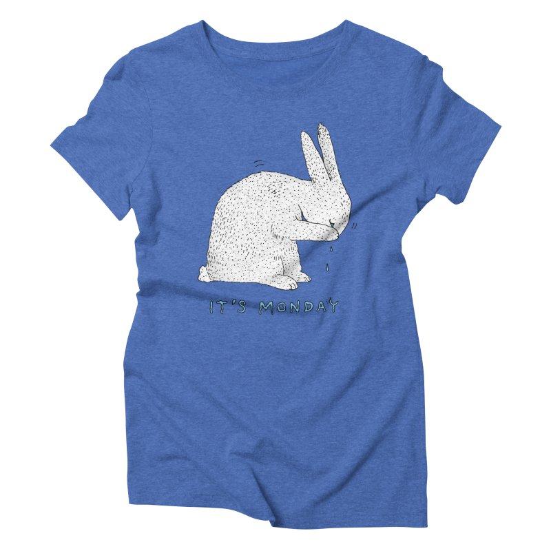 Monday Tears Women's Triblend T-Shirt by Martina Scott's Shop