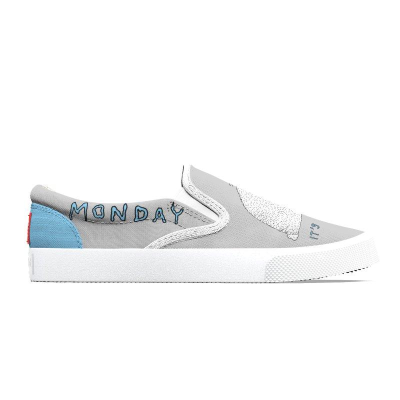 Monday Tears Men's Shoes by Martina Scott's Shop