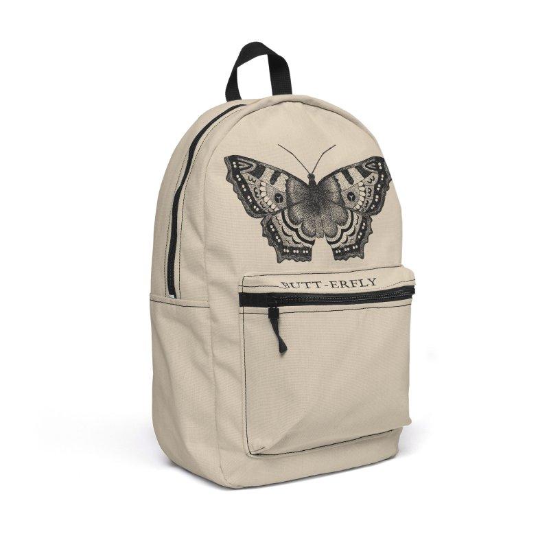 Butt-erfly Accessories Backpack Bag by Martina Scott's Shop