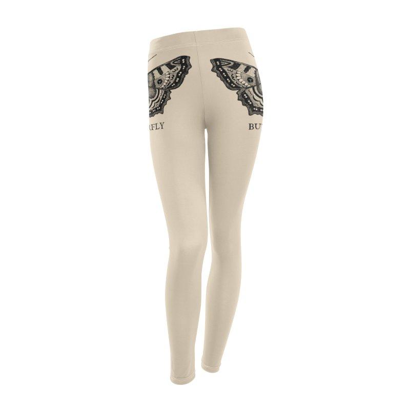 Butt-erfly Women's Leggings Bottoms by Martina Scott's Shop