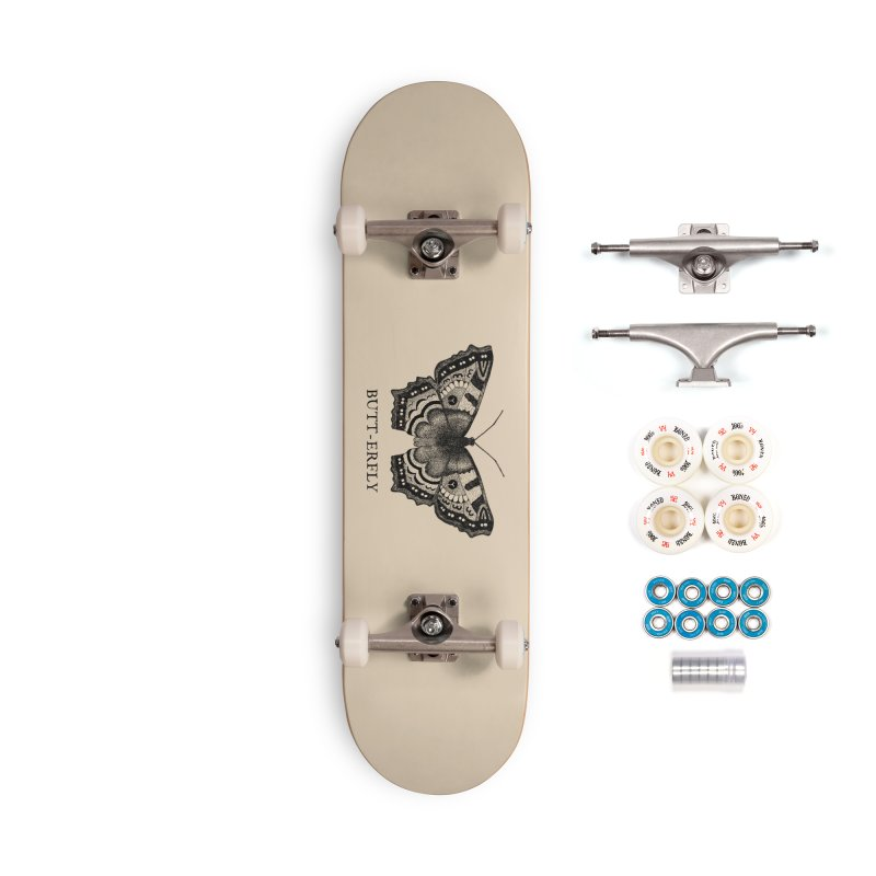 Butt-erfly Accessories Complete - Premium Skateboard by Martina Scott's Shop