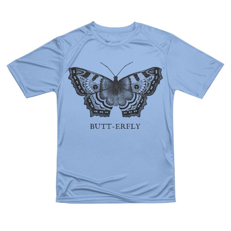 Butt-erfly Men's T-Shirt by Martina Scott's Shop