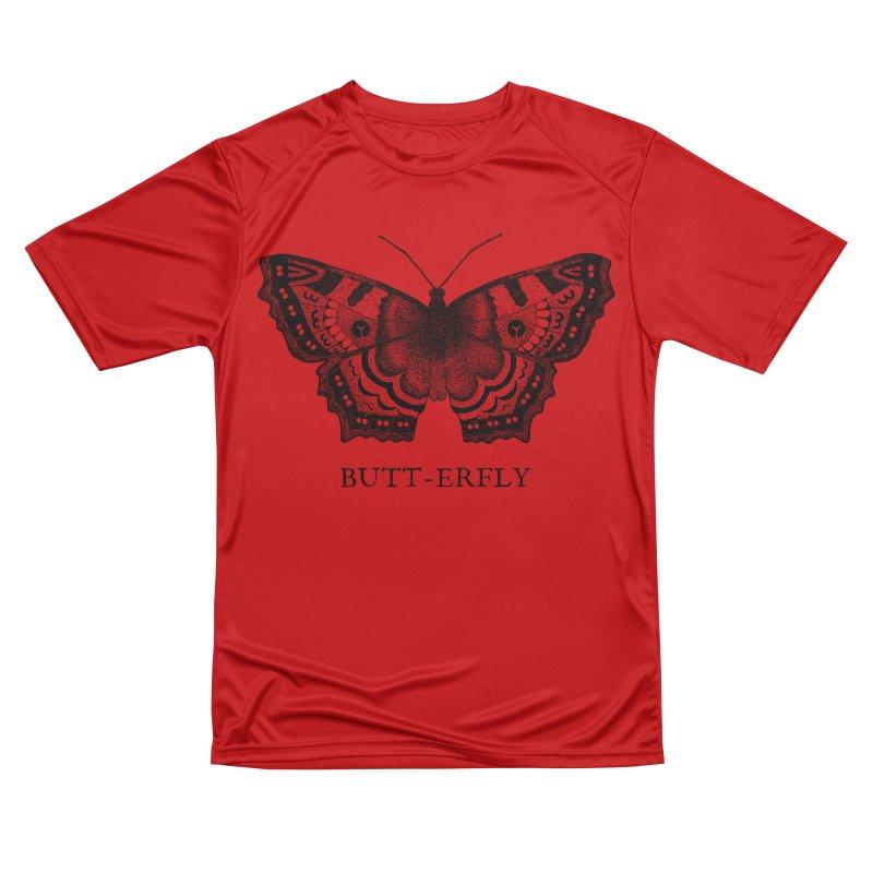 Butt-erfly Men's Performance T-Shirt by Martina Scott's Shop