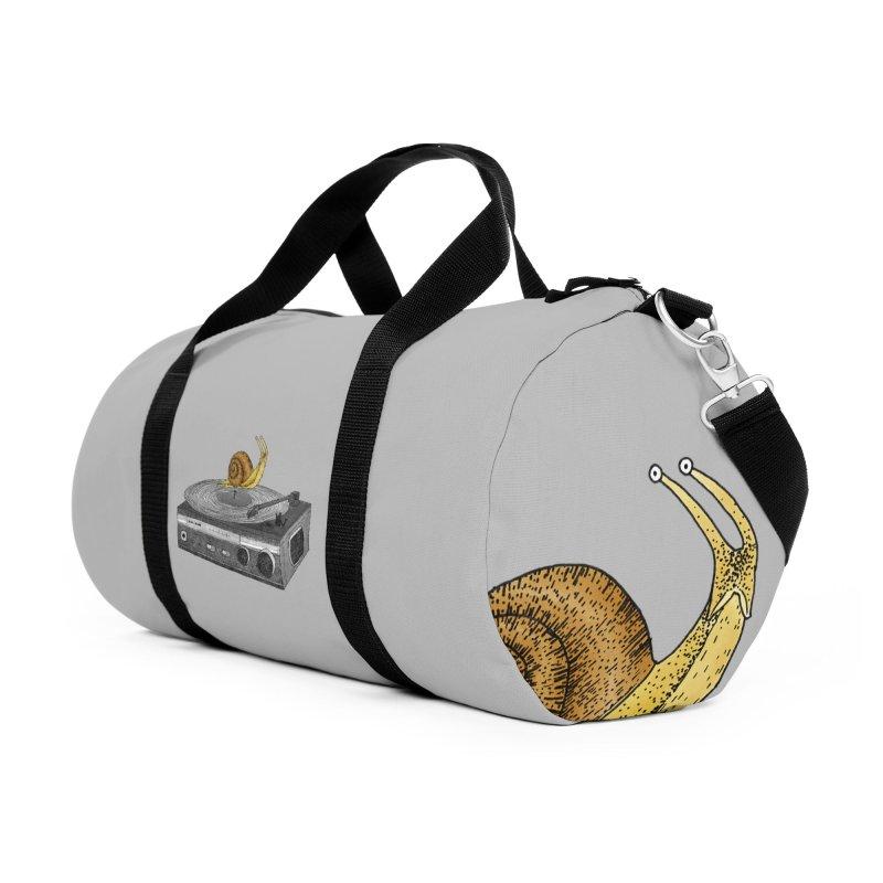 Slow Jamz Accessories Duffel Bag Bag by Martina Scott's Shop