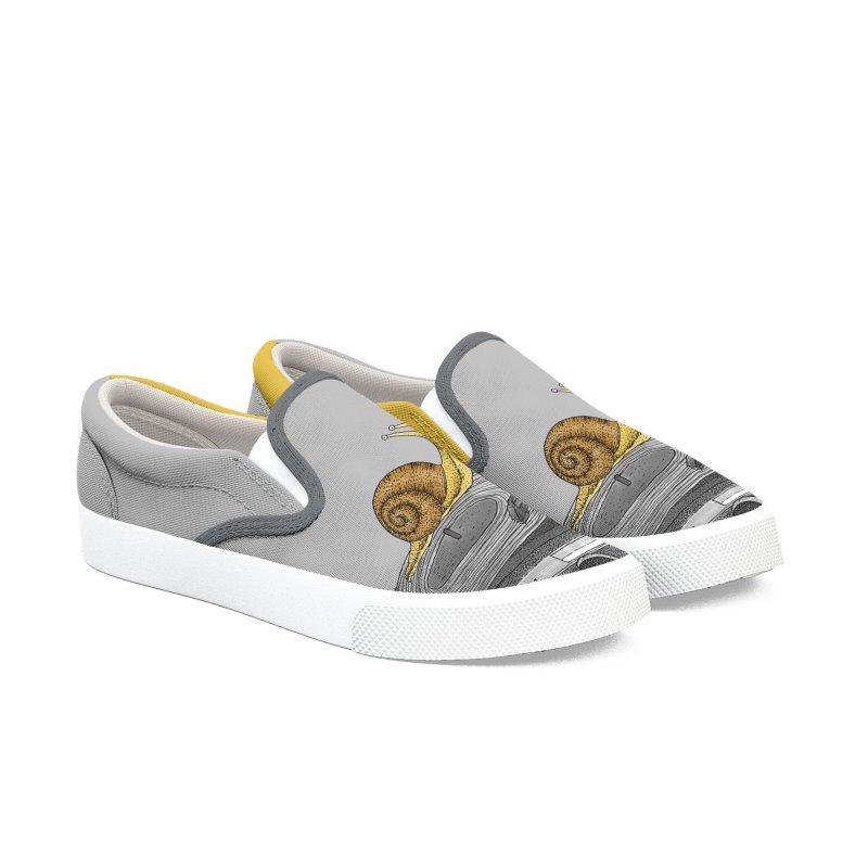 Slow Jamz Men's Slip-On Shoes by Martina Scott's Shop