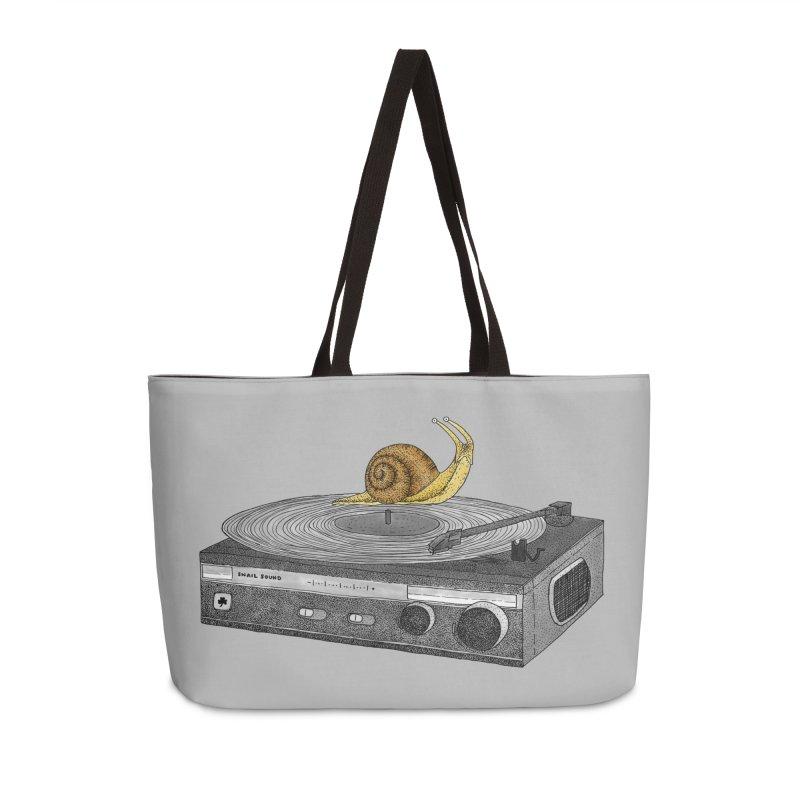 Slow Jamz Accessories Weekender Bag Bag by Martina Scott's Shop