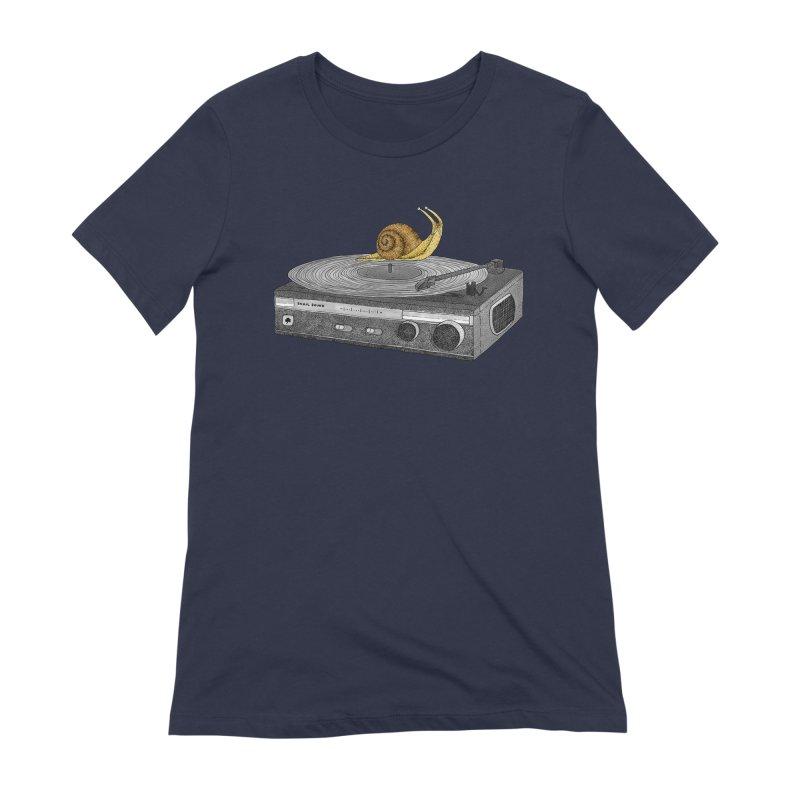 Slow Jamz Women's Extra Soft T-Shirt by Martina Scott's Shop