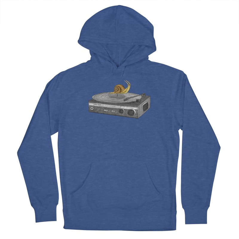 Slow Jamz Men's French Terry Pullover Hoody by Martina Scott's Shop