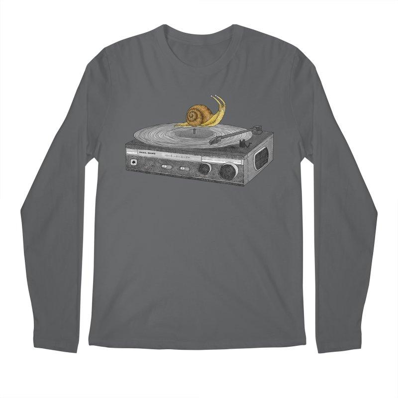 Slow Jamz Men's Regular Longsleeve T-Shirt by Martina Scott's Shop