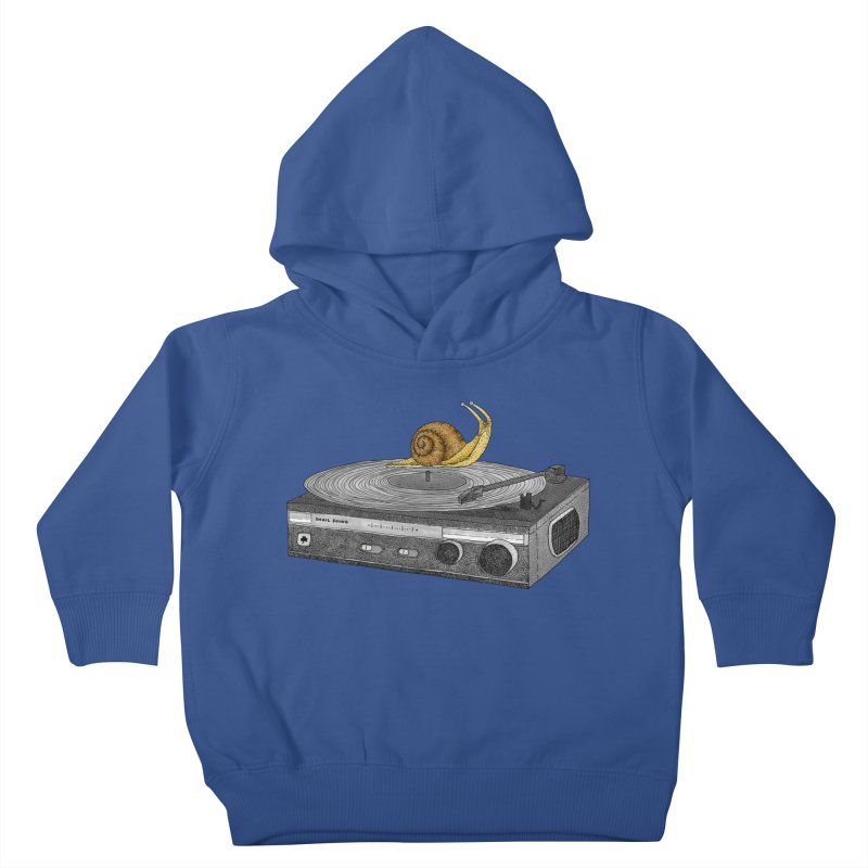 Slow Jamz Kids Toddler Pullover Hoody by Martina Scott's Shop