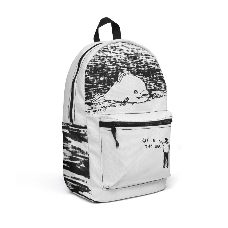 Get In The Sea Accessories Backpack Bag by Martina Scott's Shop