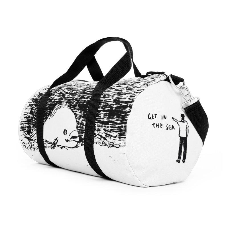 Get In The Sea Accessories Duffel Bag Bag by Martina Scott's Shop