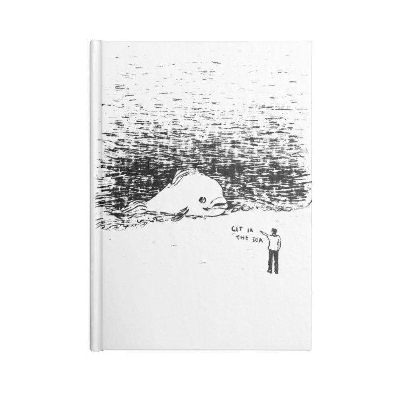 Get In The Sea Accessories Blank Journal Notebook by Martina Scott's Shop