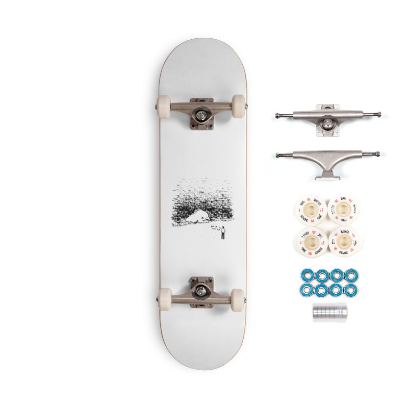 Get In The Sea Accessories Skateboard by Martina Scott's Shop